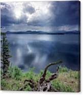 Priest Lake Light Canvas Print