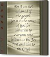 Proclaim 1 16 Canvas Print