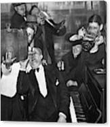 Prohibition Ends Drink Up Canvas Print