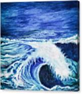 Promethea Ocean Triptych 1 Canvas Print
