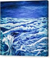Promethea Ocean Triptych 3 Canvas Print