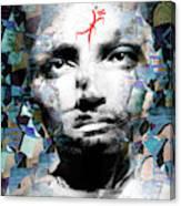 Psychosis Warrior 1141 Canvas Print
