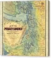 Puget Sound Canvas Print
