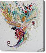 Pure Abstract #4. Trumpeting Angel Canvas Print