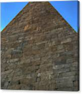 Pyramid Of Cestius Canvas Print