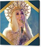 Queen Cher Canvas Print