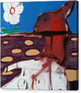 Rabbit Holes Canvas Print