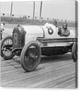 Racecar At Sheepshead Bay Track Canvas Print