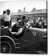 Racing Ferrari Canvas Print