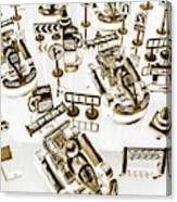 Racing Karts Canvas Print