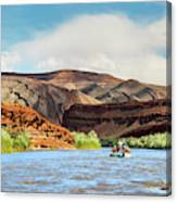 Rafting On The San Juan River Canvas Print