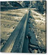 Rail Away  Canvas Print