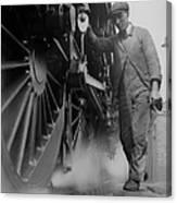 Railwayman Canvas Print