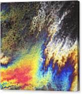 Rainbow Explosion Canvas Print