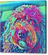 Rainbow Pup Canvas Print
