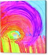 Rainbow Shell Canvas Print