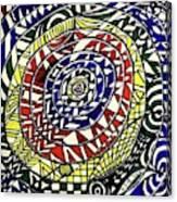 Rainbowrings Canvas Print