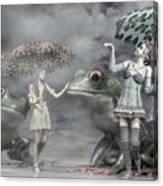 Rainy Day Daydream  Canvas Print