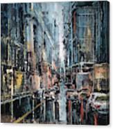 Rainy Expression Canvas Print