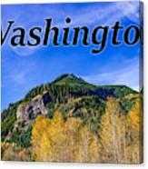 Randle Washington In Fall Canvas Print