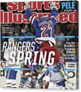 Rangers Spring How The Blueshirts Somehow Became The Sports Illustrated Cover Canvas Print