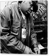 Rapper Notorious B.i.g., Aka Biggie Canvas Print