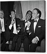 Rat Pack At Carnegie Hall Canvas Print