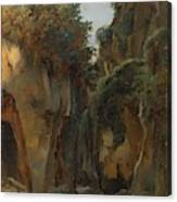 Ravine At Sorrento  Canvas Print