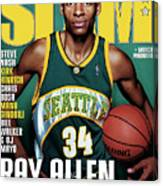 Ray Allen: The Color of Money SLAM Cover Canvas Print