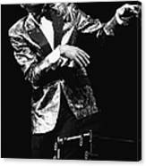 Ray Charles Dances On Stage Canvas Print