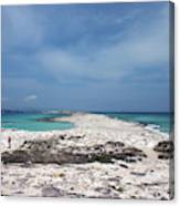 Reaching Out To Ibiza Canvas Print