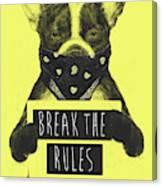 Rebel dog II Canvas Print