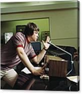Recording Pet Sounds Canvas Print