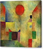 Red Balloon - Roter Ballon, 1922 Canvas Print