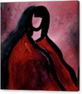 Red Blanket Canvas Print