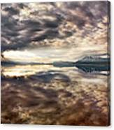 Red Rock Lake Sunrise Canvas Print