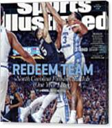Redeem Team North Carolina Finishes The Job one Year Later Sports Illustrated Cover Canvas Print