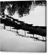 Reflected Bridge Canvas Print