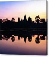 Reflections Of Angkor Wat - Siem Reap, Cambodia Canvas Print