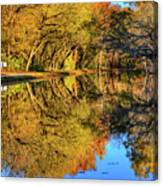 Reflections Of Autumn Canvas Print