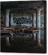 Reflections Of Decay Canvas Print