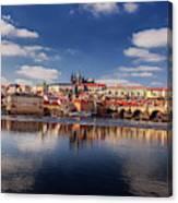 Reflections Of Prague Canvas Print