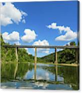 Reflections Of The Ozarks Canvas Print
