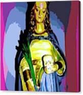 Religious Vision Canvas Print