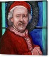 Rembrandt Santa Canvas Print