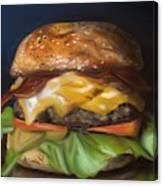 Renaissance Burger  Canvas Print