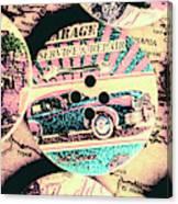 Retro Roadvival Canvas Print