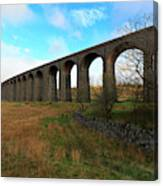 Ribblehead Viaduct On The Settle Carlisle Railway North Yorkshire Canvas Print