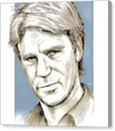 Richard Dean Anderson Color Canvas Print
