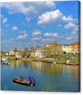 Richmond Upon Thames - Panorama Canvas Print